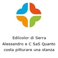 Edilcolor di Serra Alessandro e C SaS Quanto costa pitturare una stanza