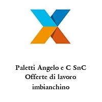 Paletti Angelo e C SnC Offerte di lavoro imbianchino