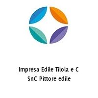 Impresa Edile Tilola e C SnC Pittore edile