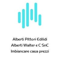 Alberti Pittori Edilidi Alberti Walter e C SnC Imbiancare casa prezzi