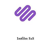 Isofilm SaS