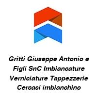 Gritti Giuseppe Antonio e Figli SnC Imbiancature Verniciature Tappezzerie Cercasi imbianchino
