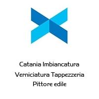Catania Imbiancatura Verniciatura Tappezzeria Pittore edile
