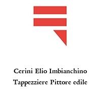 Cerini Elio Imbianchino Tappezziere Pittore edile