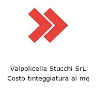 Valpolicella Stucchi SrL Costo tinteggiatura al mq