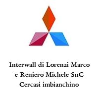 Interwall di Lorenzi Marco e Reniero Michele SnC Cercasi imbianchino