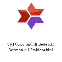 Styl Color SnC di Bedeschi Norman e C Imbianchini