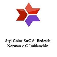 Styl Color SnC di Bedeschi Norman e C Imbianchini