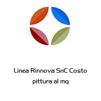 Linea Rinnova SnC Costo pittura al mq