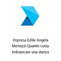 Impresa Edile Angela Menozzi Quanto costa imbiancare una stanza