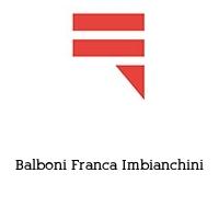 Balboni Franca Imbianchini