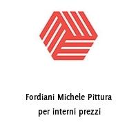 Fordiani Michele Pittura per interni prezzi
