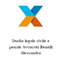 Studio legale civile e penale Avvocato Benelli Alessandro