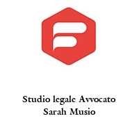 Studio legale Avvocato Sarah Musio