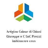 Artigian Colour di Chiusi Giuseppe e C SnC Prezzi imbiancare casa
