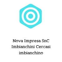 Nova Impresa SnC Imbianchini Cercasi imbianchino
