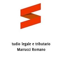 tudio legale e tributario Marrucci Romano
