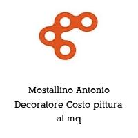 Mostallino Antonio Decoratore Costo pittura al mq