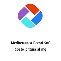 Mediterranea Decori SnC Costo pittura al mq