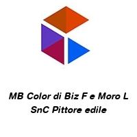 MB Color di Biz F e Moro L SnC Pittore edile