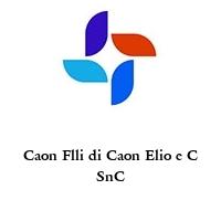 Caon Flli di Caon Elio e C SnC