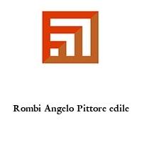 Rombi Angelo Pittore edile