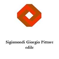 Sigismondi Giorgio Pittore edile