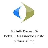 Boffelli Decori Di Boffelli Alessandro Costo pittura al mq
