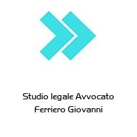 Studio legale Avvocato Ferriero Giovanni