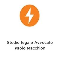 Studio legale Avvocato Paolo Macchion