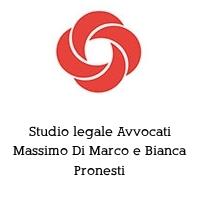 Studio legale Avvocati Massimo Di Marco e Bianca Pronesti