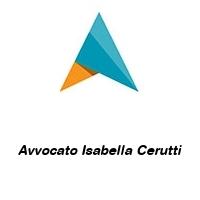 Avvocato Isabella Cerutti