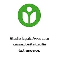 Studio legale Avvocato cassazionita Cecilia Estrangeros