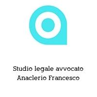 Studio legale avvocato Anaclerio Francesco