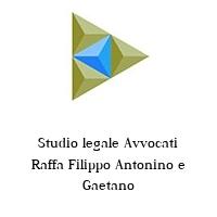 Studio legale Avvocati Raffa Filippo Antonino e Gaetano