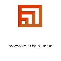 Avvocato Erba Antonio