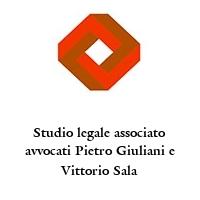 Studio legale associato avvocati Pietro Giuliani e Vittorio Sala