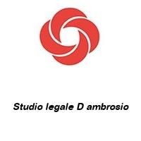 Studio legale D ambrosio