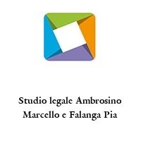 Studio legale Ambrosino Marcello e Falanga Pia