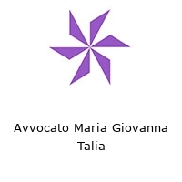 Avvocato Maria Giovanna Talia