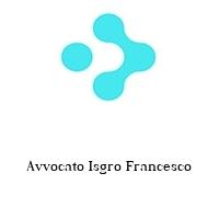 Avvocato Isgro Francesco