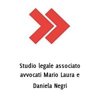 Studio legale associato avvocati Mario Laura e Daniela Negri
