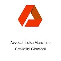 Avvocati Luisa Mancini e Craviolini Giovanni