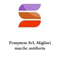 Prosystem SrL Migliori marche antifurto