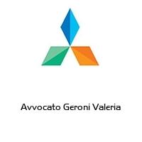 Avvocato Geroni Valeria