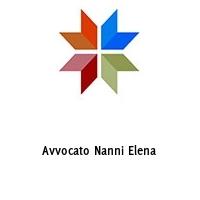 Avvocato Nanni Elena