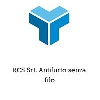 RCS SrL Antifurto senza filo