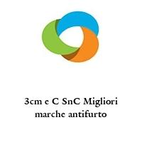3cm e C SnC Migliori marche antifurto