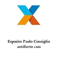 Esposito Paolo Consiglio antifurto casa