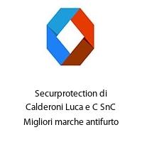 Securprotection di Calderoni Luca e C SnC Migliori marche antifurto